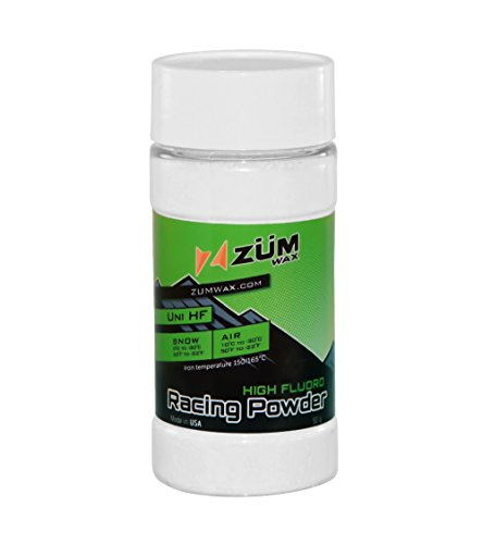 ZUMWax HIGH FLUORO NANO Racing Powder Wax Ski/Snowboard - BEST FLUORO in the PUREST form & quality!!! by ZUMWax