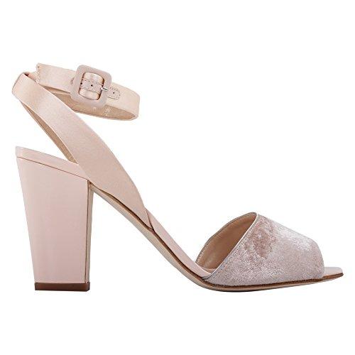 Zanotti Leather E70111002 Pink Giuseppe Women's Design Sandals Zxdzw8xXpq