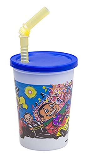 WNA Fun Cups 20 Count Race Theme Kids Cup Set, - Flatware Derby