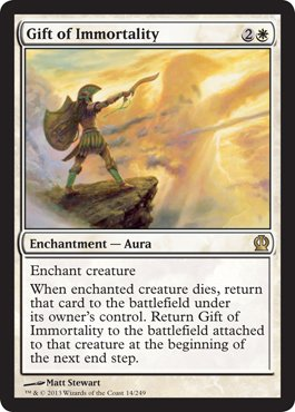 Magic: the Gathering - Gift of Immortality (14/249) - Theros