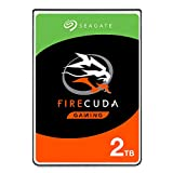 Seagate FireCuda 2TB Solid State Hybrid Drive Performance SSHD - 2.5 Inch SATA 6Gb/s Flash Accelerated for Gaming PC Laptop (ST2000LX001)