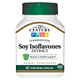 Cheap 21st Century Soy Isoflavones Veg Capsules, 60 Count