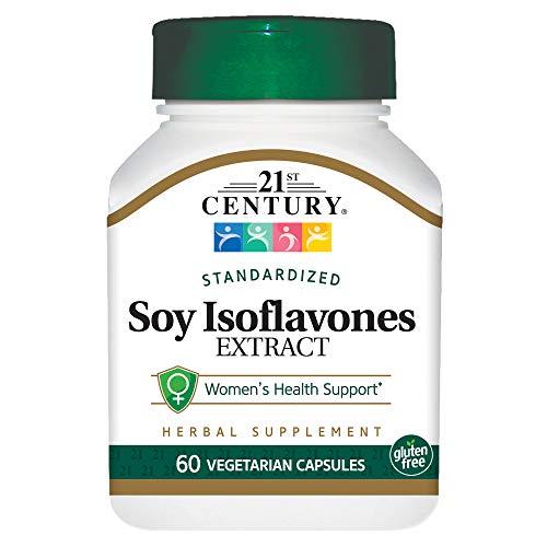 21st Century Soy Isoflavones Veg Capsules, 60 Count