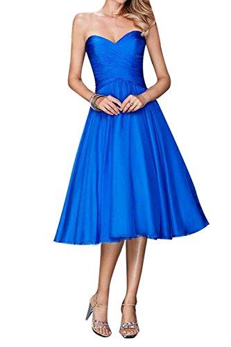 Braut Kleider Jugendweihe Linie A Knielang Festlichkleider Kurz mia Brautjungfernkleider Ballkleider Festlichkleider Blau Abendkleider La Rock aqf5RwHx