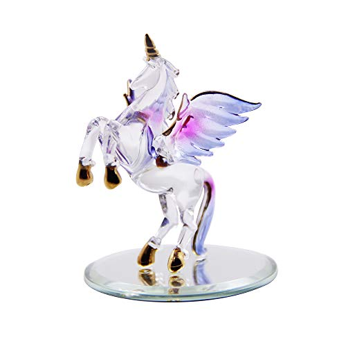 10 best crystal unicorn figurines and statues