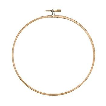 Darice Bulk Buy DIY Wooden Embroidery Hoops Round