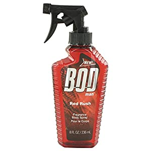 Bod Man Red Rush Cologne By Parfums De Coeur Body Spray 8 Oz Men