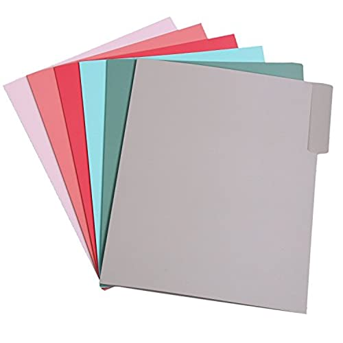 durable service assorted design classification folders 6 shabby chic designs 6 solid colored letter