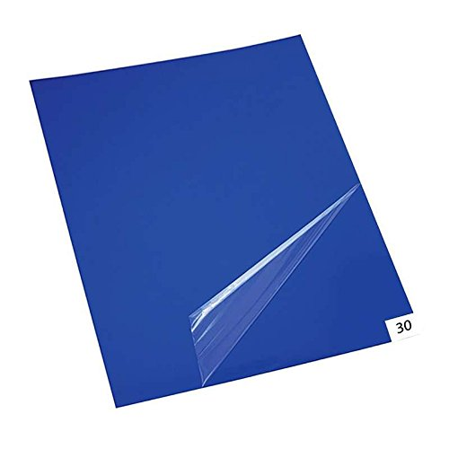 10 mats/Box, 30 Layers per Pad, 18 x 36, 4.5 C Blue Sticky mat, Cleanroom Tacky Mats/PVC Sticky Mats/Adhesive Pads, Used for Floor (for Home/Laboratories/Medical Offices use)