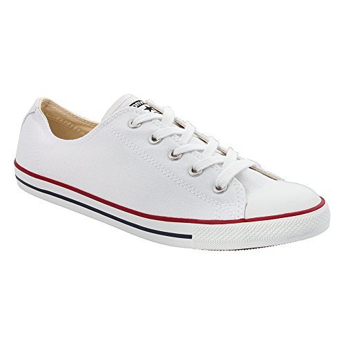 Converse Kvinners Chuck Taylor All Star Lekker Hvit Sneaker - 6 B (m) Oss