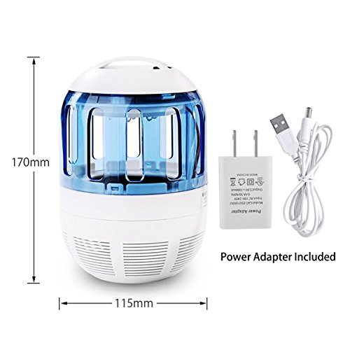 non toxic mosquito trap fochea electronic uv light lamp. Black Bedroom Furniture Sets. Home Design Ideas