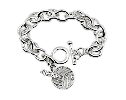 Volleyball Bracelet: #1 Top Selling Gift for Volleyball Player, Coach, Team. Why Buy A Volleyball Trophy? …