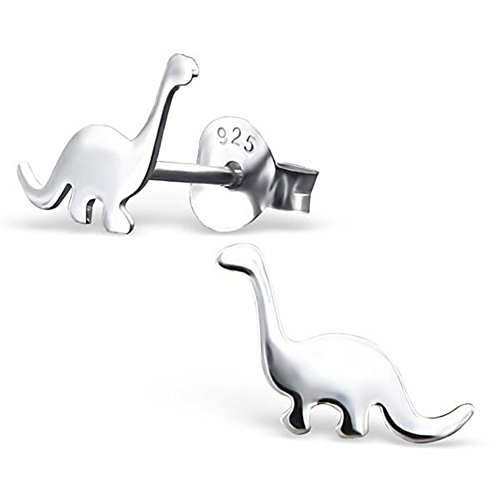 Dinosaur Silver Earrings Children Jewelry product image