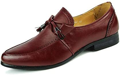 Mens Oxfords Business Dress Leather Shoes Brogues Wing tip Lace Up Loafers Sizes