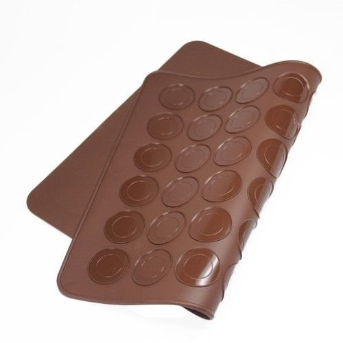 Silicone 48 Cavity Macaron Macaroon Pastry Cake Oven Baking Mould Sheet (Cavity Oven)