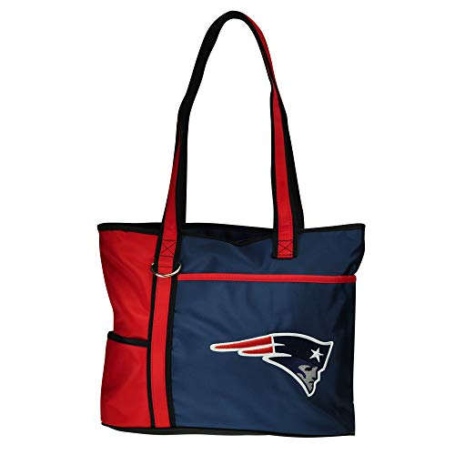 NFL New England Patriots Tote Bag with Embroidered Logo