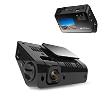 AWSAFE Hidden Dash Cam for Cars 2.0 LCD FHD 1080P 170° Wide Angle Dashboard Camera Recorder with Night Vision, G-Sensor, Motion Detection, Loop Recording