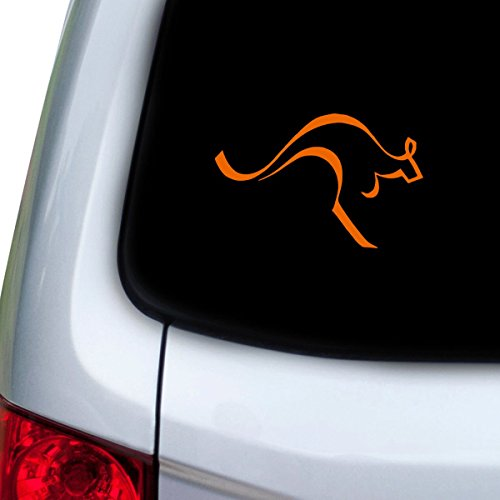StickAny Car and Auto Decal Series Kangaroo Line Sticker for Windows, Doors, Hoods ()