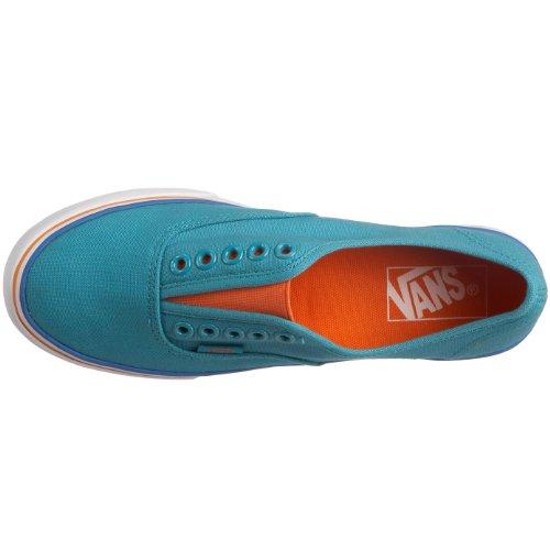 Vans Authentic Lo Pro Gore VJWJ1H0 - Zapatillas de skate de lona unisex azul - (Solid Gore) Blue