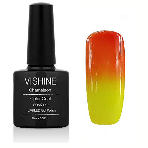 Vishine Thermal Temperature Color Changing Soak Off UV LED G