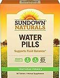 Sundown NaturalsNatural Herbal Water Pills, 60 Tablets (Pack of 3) by Sundown Naturals