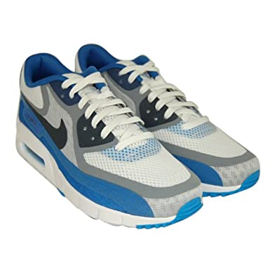 ejdjz Nike Men\'s Air Max 90 Breathe Running Trainers in Blue, Grey and