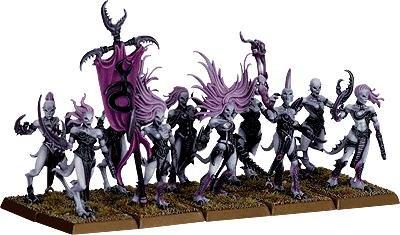 Games Workshop Warhammer Fantasy 40k Daemonettes of for sale  Delivered anywhere in USA