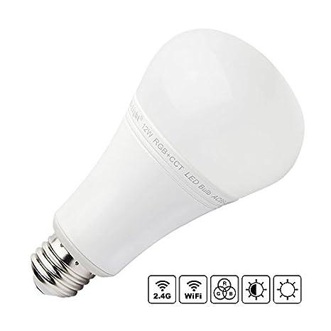 Bombilla LED WiFi E27 Bulb 12W RGB+CCT, , Regulable: Amazon.es: Iluminación