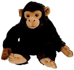 Nicotoy 6305820124 - Chimpancé de peluche, color negro (Simba Dickie Group)