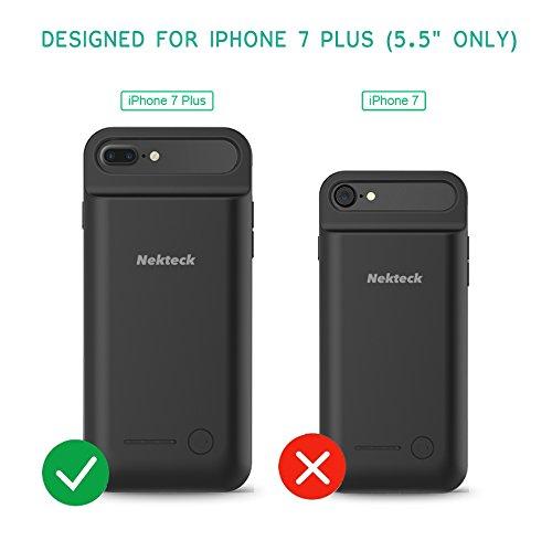 nekteck iphone 7 plus battery case deals coupons reviews. Black Bedroom Furniture Sets. Home Design Ideas