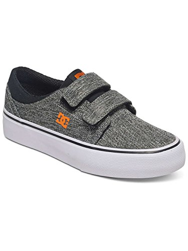 Dc Shoes Trase V TX SE - Zapatos para Chicos, Color: BLACK/GREY, Talla: 28 EU (11 US / 10 UK) (Niños/Kids) Black/Grey