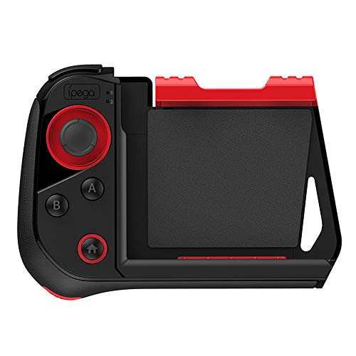 PG-9121 3 in 1 Wireless Gamepad + Joystick + Telescopic Holder BT One Hand Game Controller Smartphone Smart TV Gaming Console Handle for Android iOS