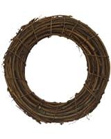 Shine Company 6602 Grapevine Wreath, 15.5-Inch, Brown