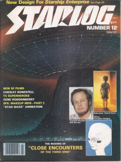 STARLOG: #12; March, Mar. 1978 (Star Trek; Sputnik; Laserblast; Starship Invasion; UFOs: Real or Reel?; Close Encounters of the Third Kind)