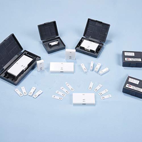 MeterTo Ceramic Gage Block Measuring Single Ceramic Block 12mm Grade 0 GB//T 6093、 DIN EN ISO3650、 JIS B 7506