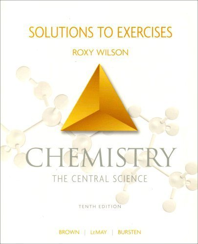 chemistry the central science 13th edition solutions manual