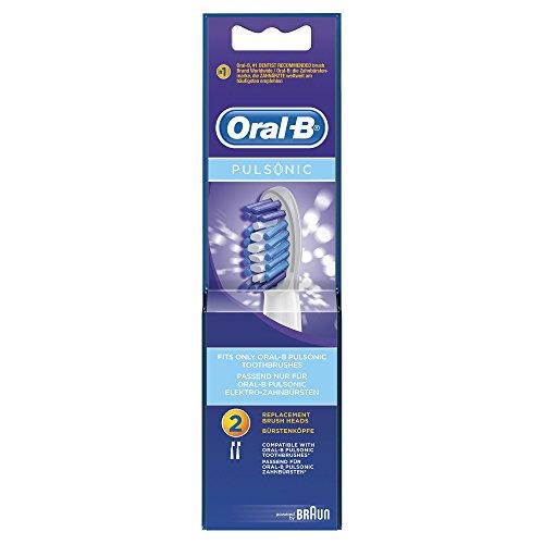 Oral-B Pulsonic Aufsteckbürsten, 2er Pack