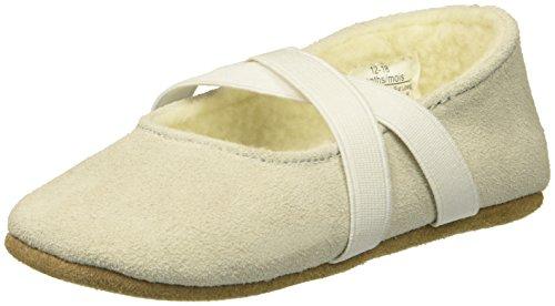 Robeez Girls' Chloe Cozy Shoe - First Kicks,Cream,3-6 mn M US Infant