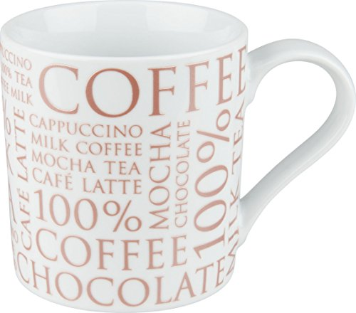 Konitz Mug 100% Coffee on White