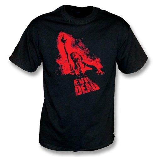 TshirtGrill Das schlechte tote Film-Plakat-T-Shirt, Farbe- Schwarzes