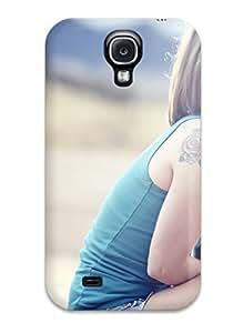 New Fashion Premium Tpu Case Cover For Galaxy S4 - Tattoo Girls