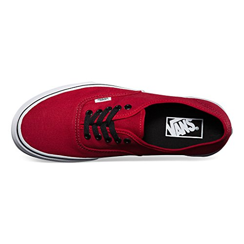 Vans Authentic Red Chili Pepper Zapatos Para Mujer Moda Skate Sneakers 0njv2ka