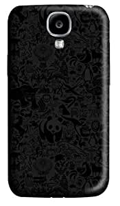 Animals Pattern Custom Samsung Galaxy I9500/Samsung Galaxy S4 Case Cover Polycarbonate 3D