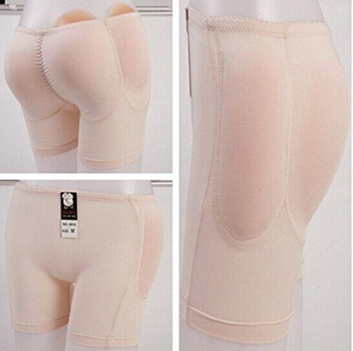 2cb3542655d EWIN(R) 1SET Silicone Padded Panties Shapewear Bum Butt Hip Enhancing  Underwear Crossdresser Padded