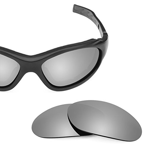 Elite Wiley Lentes Advanced Titanio X Mirrorshield — múltiples 1 XL repuesto Polarizados de Opciones para q77txSTa