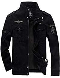 VSVO Men's Fashion Cotton Jackets