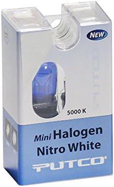 7440 Putco 217440B Mini-Halogen Bulb Pair Nitro White Putco Lighting