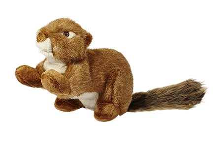 Fluff & Tuff SQUEAKERLESS Red Squirrel