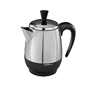 Farberware Percolator 4 Cup Stainless Steel 1000 W – Just like you remembered!