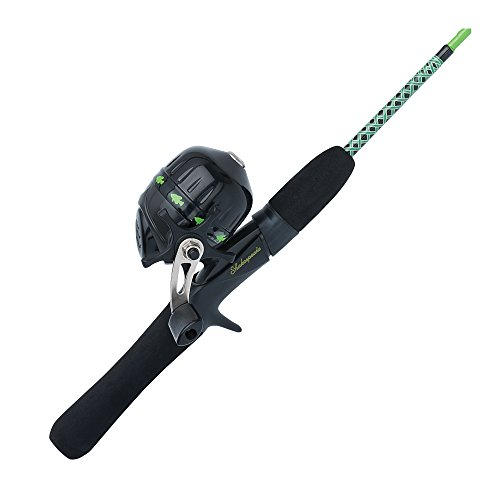 BO Ugly Stik Jr. Fishing Rod and Spincast Reel Combo, Green, 3 Feet 8 Inches, Ultra Light Power ()